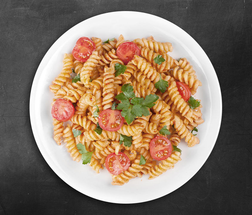 Penne with tomatoes (Demo)